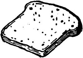 Bread slice clipart etc image