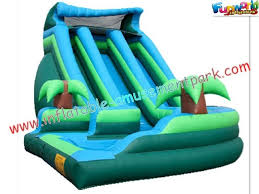Rentable Outdoor Large Inflatable Swimming Pool Water Park Slides For Kids Children