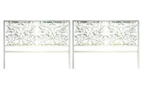 Wrought Iron King Headboard And Footboard by Wrought Iron Headboards For Queen Beds And Wood King Headboard
