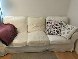 3er sofa ektorp ikea weiß