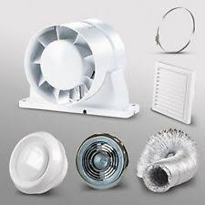 Duct Free Bathroom Fan Uk by Inline Shower Fan Ebay