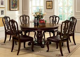Bellagio Formal Dining Room Set With Round Table
