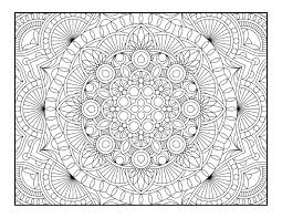 Free Printable Geometric Coloring Pages Adults 89