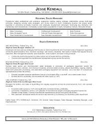Sales Account Manager Resume Templates Executive Objective For Example Objectives Sample Inside Summary