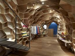 Innovative Design Ideas For Retail Store The Lucien Pellat Finet Shinsaibashi In Japan By Kengo Kuma Associates