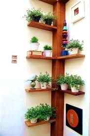 Wood Corner Shelf Impressive Wall Designs Rustic Unit