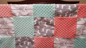 Coral And Mint Baby Bedding by Crib Bedding U2013 Tagged