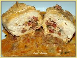 comment cuisiner des paupiettes paupiettes de poulet farcis aux poivrons et au chorizo pique