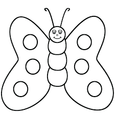 Cute Butterfly Coloring Pages Fatty
