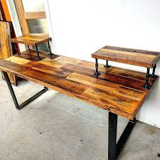 Rustic Desk Furniture Best Ideas On Wooden Office And Computer
