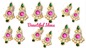How To Make Designer Earrings/Bridal & Designer Crystal Stone ... How To Make Pearl Bridal Necklace With Silk Thread Jhumkas Quiled Paper Jhumka Indian Earrings Diy 36 Fun Jewelry Ideas Projects For Teens To Make Pearls Designer Jewellery Simple Yet Elegant Saree Kuchu Design At Home How Designer Earrings Home Simple And Double Coloured 3 Step Jhumkas In A Very Easy Silk Earring Bridal Art Creativity 128 Jhumka Multi Coloured Pom Poms Earring Making Jewellery Owl Holder Diy Frame With