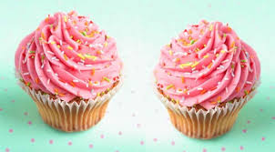 AddThis Pink Cupcakes With Raspberries