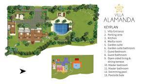 100 Bali Garden Ideas Floorplan Villa Alamanda Ubud 4 Bedroom Luxury Villa