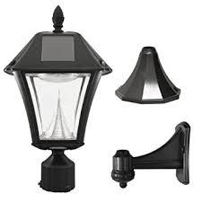 Amazon Gama Sonic Baytown II Solar Outdoor LED Light Fixture