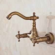 becola european style vintage wall mount kitchen bathroom faucet
