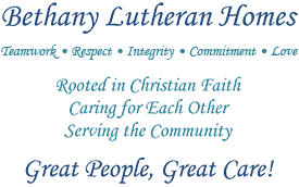 Bethany Lutheran Homes of La Crosse Wisconsin munities Caring