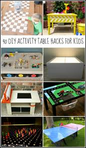 Step2 Art Master Desk Canada by 40 Diy Activity Table Hacks For Kids And Next Comes L