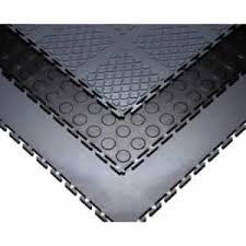 SelecTech SelecTile Resilient Vinyl Interlocking Floor Tiles