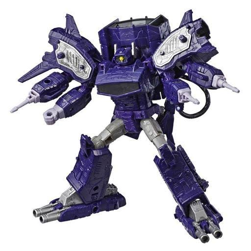 Transformers War for Cybertron Siege Shockwave Leader Action Figure