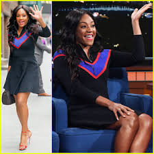 Tiffany Haddish Jokes About Being White On Paper During Hilarious Late Show Interview