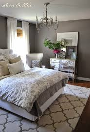 Bedroom Charcoal Grey Wall Color For Colonial Decorating Ideas Young Women With Printed Floral Bedding Set Elegant