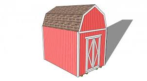 8 X 10 Gambrel Shed Plans by Gambrel Shed Plans Myoutdoorplans Free Woodworking Plans And