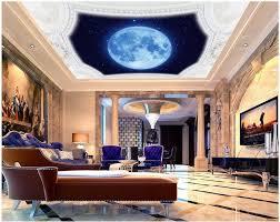 3d decke wandbilder wallpaper blauen himmel wohnzimmer decke dekoration malerei mural 3d wallpaper 3d angepasst tapete