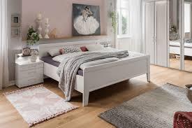wiemann schlafzimmer bern weiß mit doppelbett möbel letz