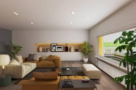 modernes wohnzimmer im home staging kein foto