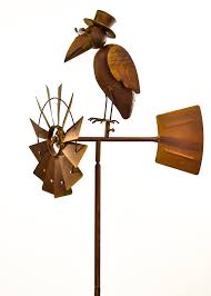 Rustic Brown Metal Spinning Wheel Top Hat Bird Windmill Stake ... Backyards Cozy Backyard Windmill Decorative Windmills For Sale Garden Australia Kits Your Love This 9 Charredwood Statue By Leigh Country On 25 Unique Windmill Ideas Pinterest Small Garden From Northern Tool Equipment 34 Best Images Bronze Powder Coated Windmillbyw0057 The Home Depot Pin Susan Shaw My Favorites Lower Tower And Towers Need A Maybe If Youre Building Your Own Minigolf Modern 8 Ft Free Shipping Windmillsnet
