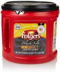 Get Quotations Folgers Black Silk Ground Coffee 278 Oz