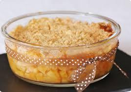 dessert aux pommes sans gluten crumble aux pommes et au sirop d érable sans gluten délices