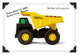 Tonka Steel T.S. 4000 Dump Truck Review - SUNSHINE AND FLIP FLOPS