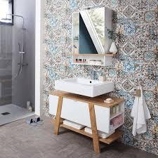 design waschbecken unterschrank zweifarbig latara