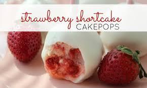 Strawberry Shortcake Cake Pops Recipe