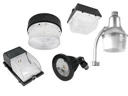 outdoor lighting fixtures led canopy flood lights and wall packs