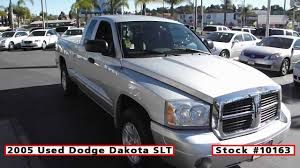 2005 Used Dodge Dakota SLT For Sale In San Diego At Classic Chariots ... Dakotachaoss 1993 Dodge Dakota Some Great Elements Here Marlinton Used 2008 Vehicles For Sale 2002 Slt Rwd Truck For 31422c 2005 In San Diego At Classic Chariots Rt Cheap Pickup 6990 Youtube Used Truck Sale Sport F402260b Hd Video 2010 Dodge Dakota Big Horn Leather For Sale See Www 2007 699000 2wd Crew Cab Bighornlonestar Triangle Vehicle Estrie Jn Auto 4x4 Ragtop 1989 Convertible