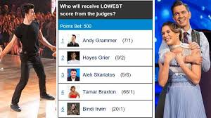 Dancing With The Stars Dwts Hayes Grier Andy Grammer
