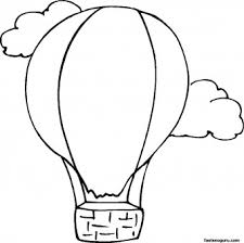 Print Out Coloring Pages Hot Air Balloon