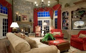Living Room Rustic Elegance