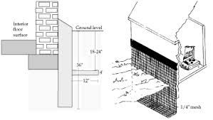 rodent proof construction and exclusion methods