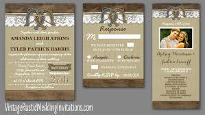Rustic Western Horseshoe Wedding Invitations