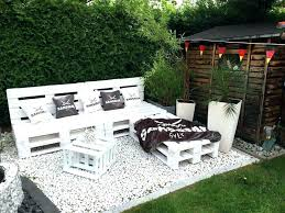 Pallet Porch Furniture Garden Table Chic White Sitting Set Instructions