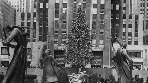 Rockefeller Christmas Tree Lighting Performers by Rockefeller Christmas Tree Through The Years See Photos Am New York