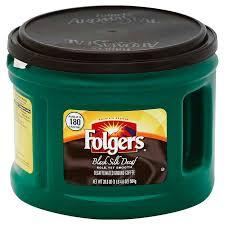 FolgersR Black Silk Decaf Coffee