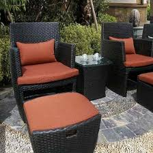 Patio Furniture With Hidden Ottoman by Patio Chair With Hidden Ottoman My Sweet Home