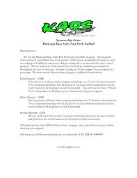 Request Letter Baseball Team Sponsorship Sports Sample Tryout