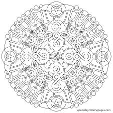 Infinite Dance Fixed There Was Two Zones That When Combined Made The Piece Mandala ColoringZentangle