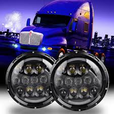 LED Headlights For Kenworth T2000 T 2000 1998 2010 Tractor Trailer ... Volkswagen Amarok Bi Xenon Headlights Led Ultimate Left Right Vw Oem For Land Cruiser Fj40 Fj55 Minitruck Set Of 2 5x7 Auto Drl Led Headlamp Inch Truck Headlight 6x7 High Lite Ece 27291c Trucklite 6 Brightest Bulbs 2018 Bestheadlightbulbscom Oracle 0205 Dodge Ram Colorshift Halo Rings Amazoncom H7 2in1 Bulb Kit Xkchrome Smartphone App 1215 Toyota Tacoma Hid Retrofit 661977 Ford Bronco Projector Headlightsbrongraveyardcom Recon Bar Fxible White Tube With And Amber Leds Custom