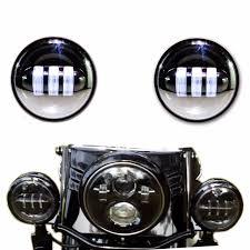 aliexpress buy dot black 4 5 inch led passing light led fog